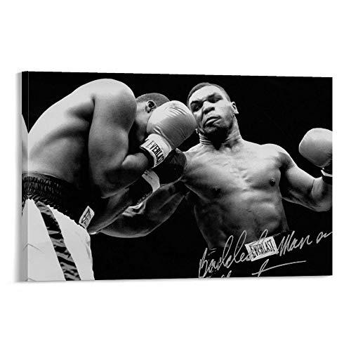 DRAGON VINES Mike Tyson Professional Boxer Atlete Challenge puede colgar pinturas muralista dormitorio sala de estar decoradas con arte de pared de cocina 50 x 75 cm