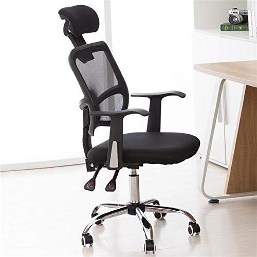 Ergonomischer Schreibtischstuhl, Höhenverstellbarer Drehstuhl, Bürostuhl bis 150kg/330LB Belastbar (Stil 2)