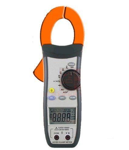 Gowe Digital TRMS AC/DC Zangenamperemeter Acv, ACA, Widerstand, Frequenz, Diode, Kontinuität Tester