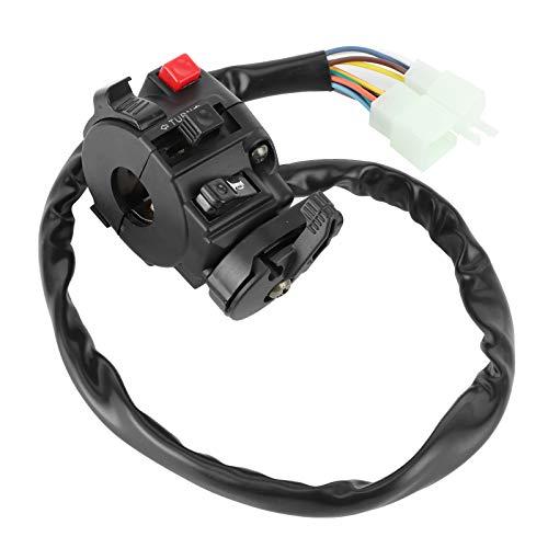 Interruptor de manillar Control de interruptor de manillar Moto ATV Interruptor de manillar Reemplazo práctico Interruptor de manillar de motocicleta para motocicleta
