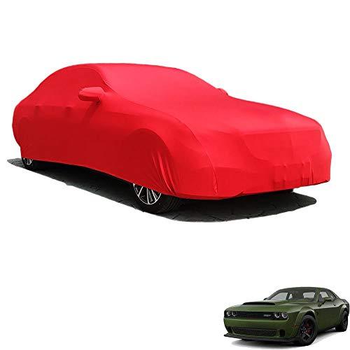 La Funda para Interior del Coche Es Compatible con Dodge Challenger SRT Hellcat Redeye Widebody, Tej