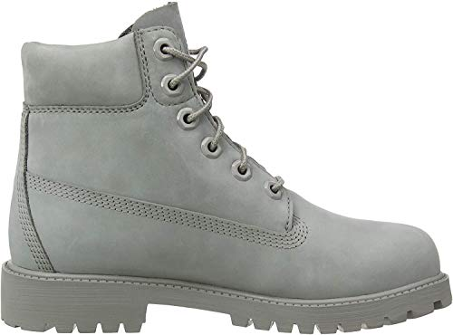 Timberland Unisex-Kinder 6 Inch Premium Waterproof (Junior) Klassische Stiefel, Grau (Medium Grey Nubuck), 39 EU