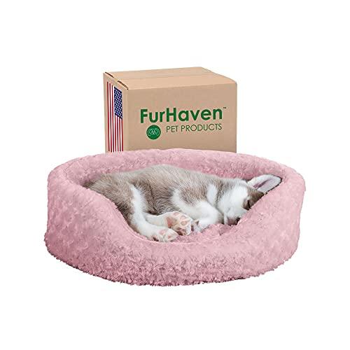 Furhaven Round Oval Cuddler