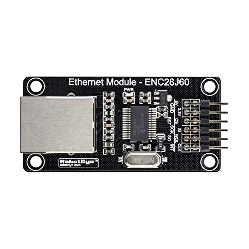 Ywzhushengmaoyi ENC28J60 Ethernet LAN Network Module Power In 3.3V/5V For AVR STM ARM for A-r-d-u-i-n-o - products that work with official for A-r-d-u-i-n-o boards 10pcs Electronics Module Parts