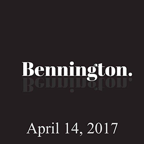 Bennington, Jim Tews, April 14, 2017 audiobook cover art