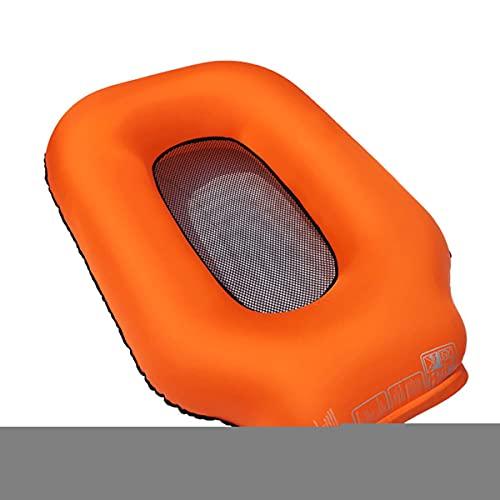 QNMM Flotadores de Piscina Silla Flotante Inflable Tumbona Hamaca de Agua Balsa Juguete de Piscina, Alfombra de Playa para Piscina para Adultos Y Niños, No Requiere Bomba