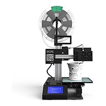 Winbo 3Dプリンター 高精度 レーザー彫刻 レーザーカッターの3in1 ノズルの横に半導体レーザーユニット搭載済 SH155L、完成品、軽量省エネ、造形サイズ150x150x200mm、積層Min0.04mm
