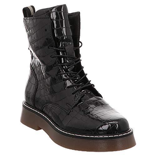 Mjus | Stiefelette - schwarz | Nero, Farbe:schwarz, Größe:41