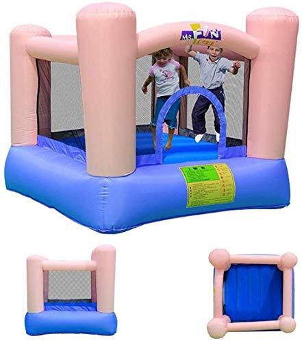 WRJY Kind Kinderheim Kinder Türsteher Bett Kinderspiele Spielzeug Jungen und Mädchen Outdoor-Spiele Trampolin (Größe: 200x200x160cm)