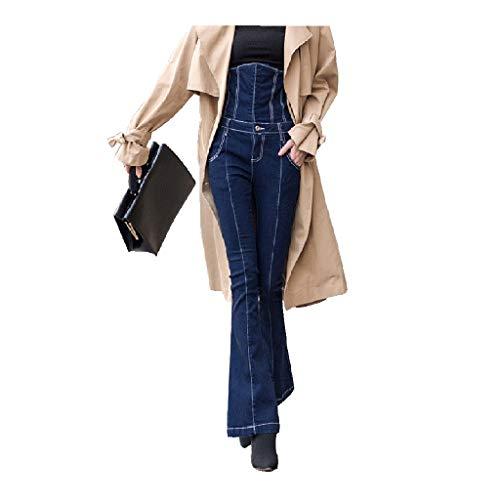 Bekleidung Jeans Der Frauen Micro-Flare-Hosen Mit Hoher Taille Hosen Mit Elastischer Taille Fishbone-Flare-Hosen Mit Hoher Taille Hochwertige Baumwolle Vier Jahreszeiten Tragbar Damen