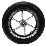 Neumático de rueda maciza, materiales de PU Reemplazo de rueda maciza Antideslizante Resistente al desgaste para sillas de ruedas eléctricas