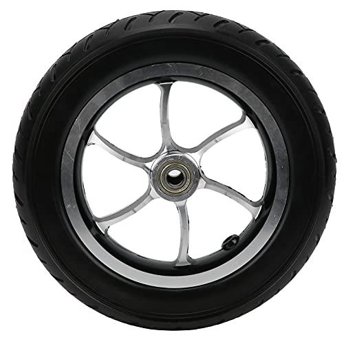 Rueda sólida de PU, aleación de aluminio de 10 pulgadas Sin reemplazo de neumático delantero inflable para sillas de ruedas