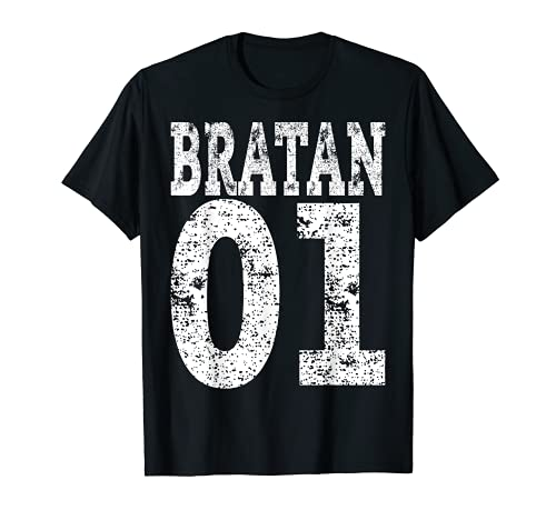 Rap Hip Hop Brudi Russisch Bruder Geschenk Bratan 01 T-Shirt