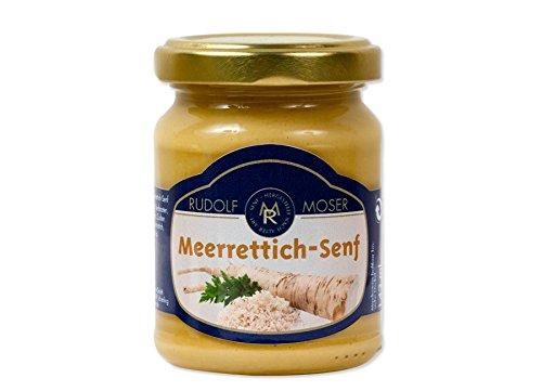 Rudolf Moser's ★ Meerrettichsenf Senf ★ Premium Qualität ★ 140ml