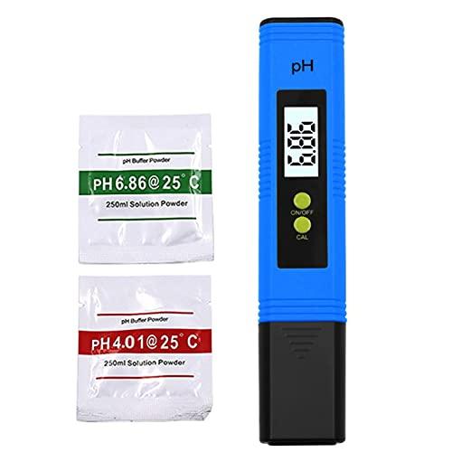 Zhou-YuXiang Medidor de pH Pluma de Prueba de Calidad del Agua de Alta precisión Medidor Tds Luz de Fondo Filtro de pureza del Agua Herramientas de medición