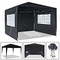 Laiozyen 3 x 6 m Waterproof Pop Up Gazebo Marquee Water Resistant Tent with Side Panels & Storage Bag for Outdoor… 19