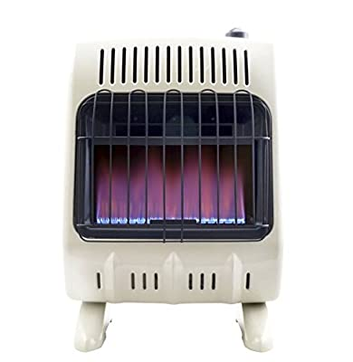 Mr. Heater Corporation Vent-Free 10,000 BTU Blue Flame Propane Heater, Multi