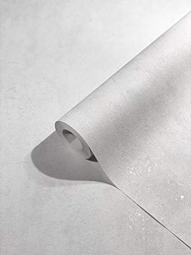 marburg Tapete Weiß Struktur für Schlafzimmer oder Wohnzimmer Vliestapete 100% Made in Germany PREMIUM QUALITÄT 10,05 x 0,53m