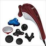 Wahl Hot Cold Deluxe Heat Therapy Electric Corded Massager with Variable Intensity for Customized Pain Relief – Model 4295-400