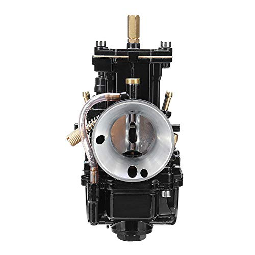 Carburador de Diapositivas sin Sabor de Titanio de la Motocicleta de 28 mm for Keihin Carb Pwk MIKUNI Power Jet Kit Fab Carburetors