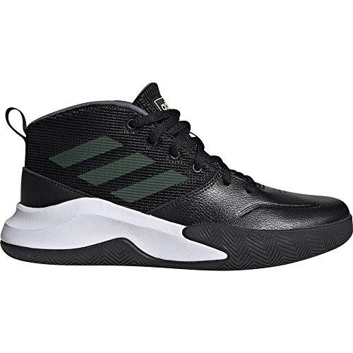 adidas Jungen Unisex-Kinder Ownthegame K Wide Basketballschuhe, Mehrfarbig (Negbás/Amalre/Onix 000), 28 EU