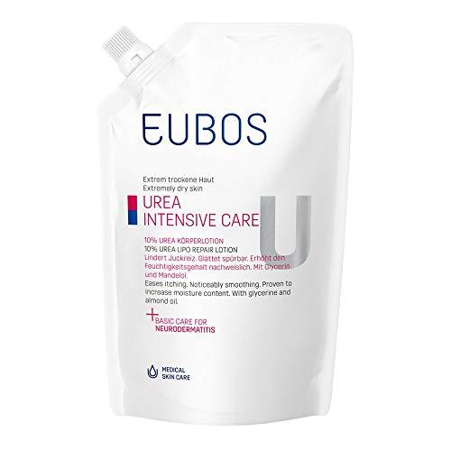 EUBOS MED Trockene Haut 10% UREA Körperlotion Nachfüllbeutel