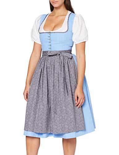 BERWIN & WOLFF TRACHT FOLKLORE LANDHAUS Damen Dirndl Kleid 806590 Größe 46