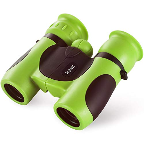 Jaybest Binoculares 8x21 para Niños, Mini Prismáticos comp