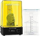 ANYCUBIC Wash and Cure Plus Machine, 2 en 1 machine Wash & Cure pour Modèles en Résine d'Imprimante 3D,pour Saturn Photon Mono X LCD/DLP/SLA avec table de durcissement rotative, Taille 192X120X290mm
