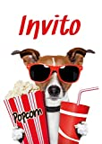 Edition Colibri 10 inviti per Festa di Compleanno; Motivo: Cinema / inviti di Compleanno per Bambini al Cinema / in Italiano (10700 IT)
