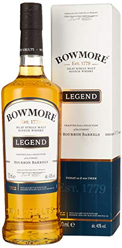 Bowmore Legend Islay Single Malt Whisky (1 x 0.7 l)