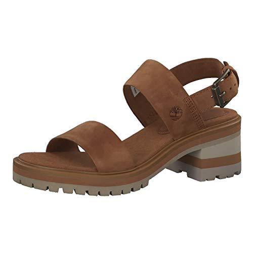 [ティンバーランド] Violet Marsh, Sandal For Women 24,5 Brown