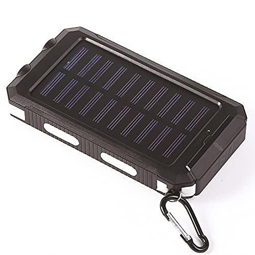 ZHJH Potencia Móvil USB, Potencia Móvil, Carga Rápida, Cargador Portátil, con Linterna LED, Adecuada para Computadoras Móviles Y Camping Al Aire Libre,Blanco