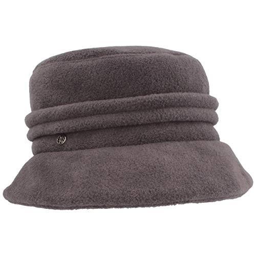 LOEVENICH Damen Winter-Mütze | Fleece-Mütze | Winter-Hut aus weichem Polar Soft Fleece mit Biesen & schmaler Krempe