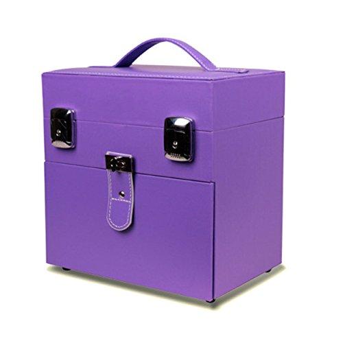 Portable Imperméable à L'eau Crochet Serrure Ongle Générique Tendance Boîte à Outils étui Cosmétique Couleur Unie,03-230*160*230mm