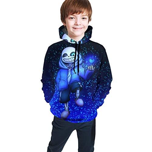 Undertale Fashion Hoodie Sans Youth Boys Girls Children Pullover 3d Printing Sweatshirt Tops 14-16 Years