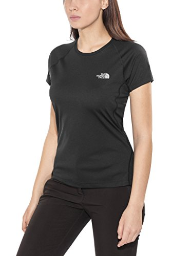 THE NORTH FACE W S/S Flex EU TNF Black T-Shirt Femme TNF Black FR : S (Taille Fabricant : S)