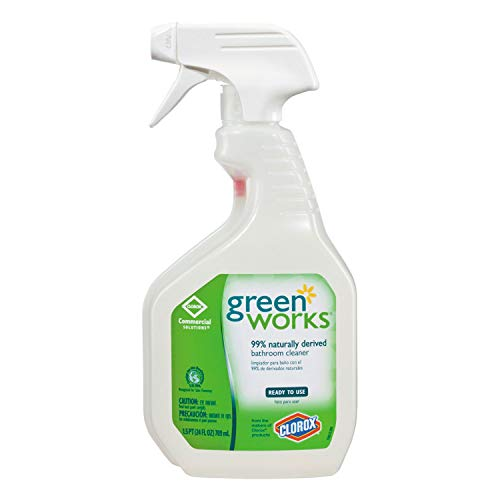 Green Works - Bathroom Cleaner, 24oz Spray Bottle 00452 (DMi EA