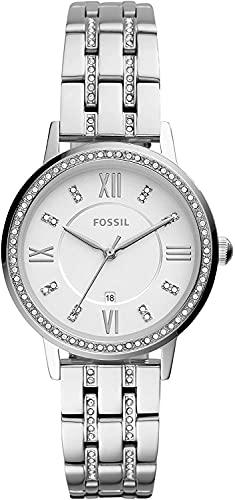 Fossil Reloj Analógico para Mujeres (Women) de Cuarzo con Correa en Acero Inoxidable ES4880