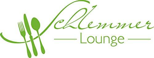 GRAZDesign 620567 Muurtattoo keuken Slemmer-Lounge | Keukenstickers en tattoo voor uw muren - kasten - tegels - meubels | voor restaurant en bars 79x30cm 063, lindegroen