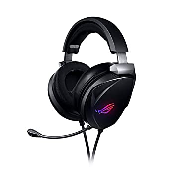 ASUS Gaming Headset ROG Theta 7.1   Ai Noise Cancelling Headphones with Mic   ROG Home-Theatre-Grade 7.1 DAC and Aura Syn RGB Lighting