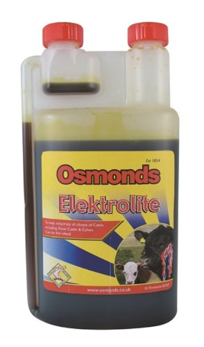 Osmonds Elektrolite Plus Livestock, Poultry & Equine Electrolyte x Size: 1 Lt