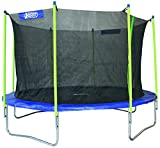 Best Sporting Garten Trampolin Big Jumper, Ø 426 cm, Outdoor Trampolin mit Sicherheitsnetz, blau