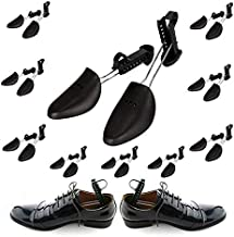Plastic Shoe Trees for Men 10 Pairs - Men Shoe Trees for Sneakers - Travel Shoe Trees for Men Plastic - Adjustable Shoe Tree Women - Plastic Boot Trees to Keep Shoes In Pristine Conditions
