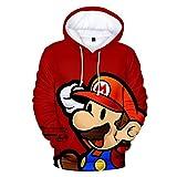 Clásico de dibujos animados Mario Bros 3D impresión chaqueta hombres/mujeres casual Streetwear...