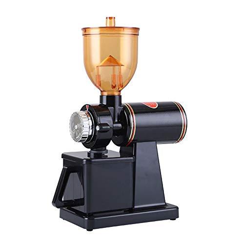 Elektrische Kaffeemühle Konische Kaffeemühle, Tragbar Mit Stufenlos Einstellbarer Mahlung Für Kaffeebohnen, Gewürze, Nüsse Und Getreide,Schwarz,Standard 220V