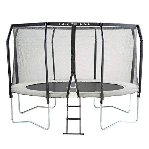 Photo de kangui-trampoline-de-jardin-rond-o300cm-avec-filet-de-securite
