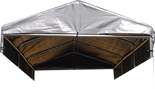 Lucky Dog Small Weatherguard Kennel Roof System