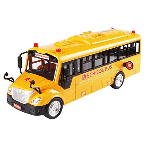 1yess Modell Spielzeug LKW Schule Bus Spielzeug Große Buswagen Bus Spielzeug Auto Modell Für Kinder Spielzeug Puzzle (Größe: a) 8bayfa (Size : B)