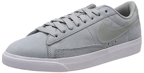 Nike W Blazer Low LX, Scarpe da Ginnastica Donna, Grigio (Lt Pumice/Lt Pumice/White 005), 41 EU